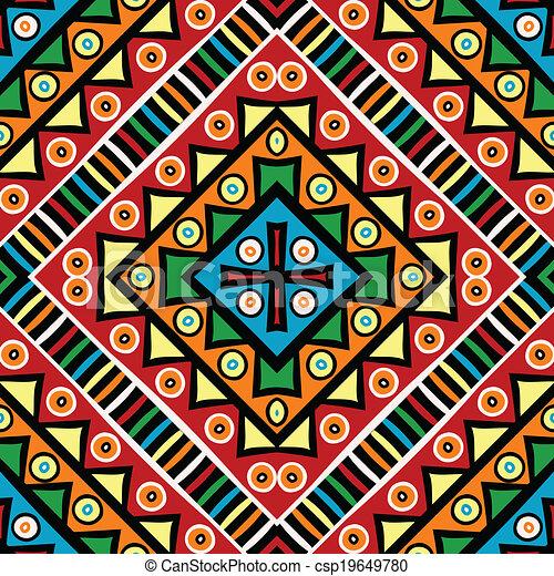 religieux, texture, motifs, ethnique - csp19649780