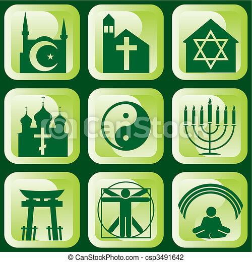 religijny, znaki - csp3491642