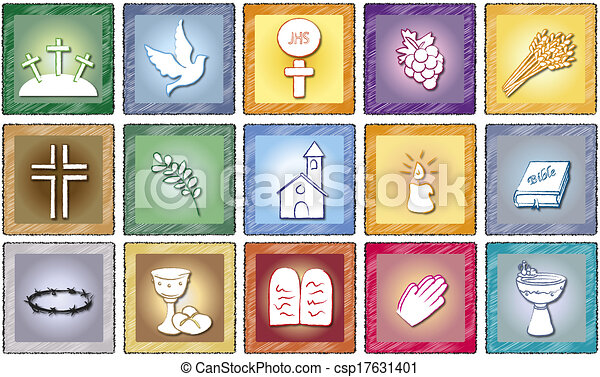 religion icons - csp17631401