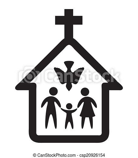 religione, disegno - csp20926154