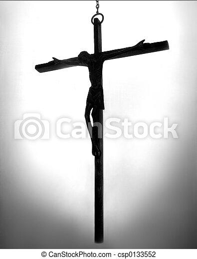 religious cross - csp0133552