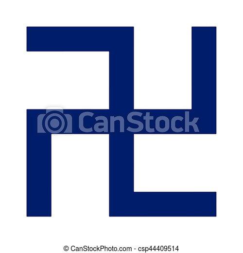 Religious Sign Buddhism Swastika Vector Format Vector Clip Art