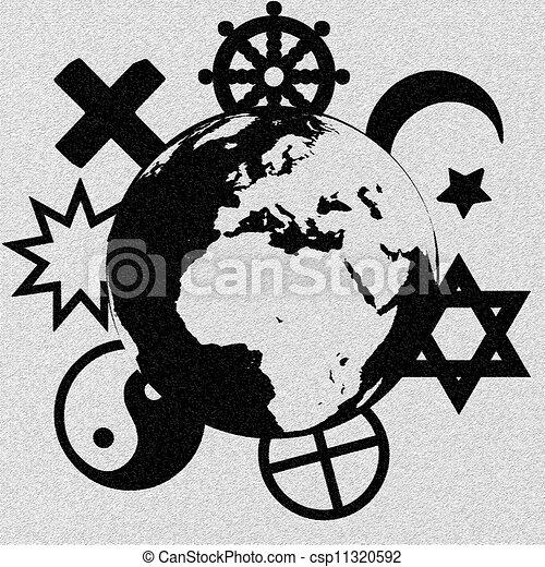 Religious Symbols Of Our Planet