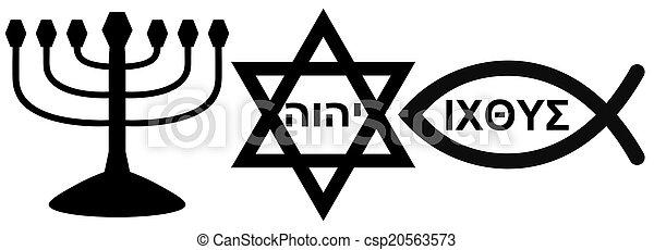 religious symbols - csp20563573