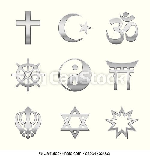 Religious Symbols Silver Religion Symbols Silver Signs Of Major