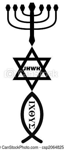 religious symbols - csp20648250