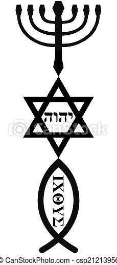 religious symbols - csp21213956