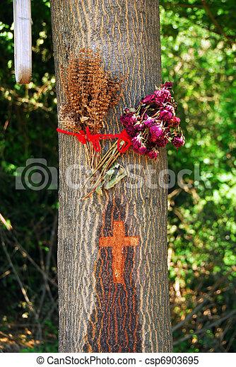 Religious symbols - csp6903695