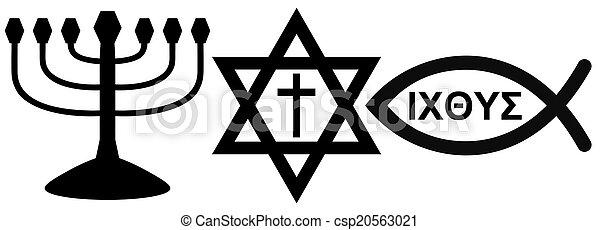 religious symbols - csp20563021