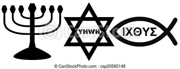 religious symbols - csp20565148