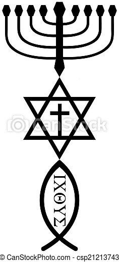 religious symbols - csp21213743