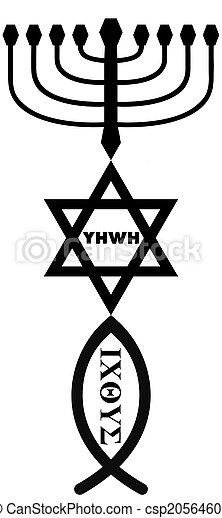 religious symbols - csp20564605