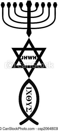 religious symbols - csp20648038