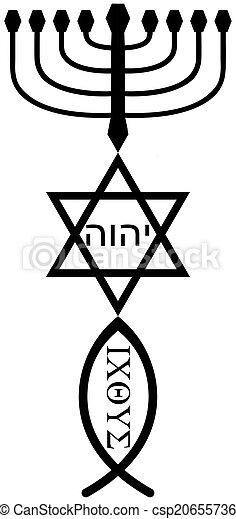 religious symbols - csp20655736
