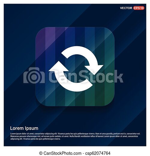Reload icon - csp62074764