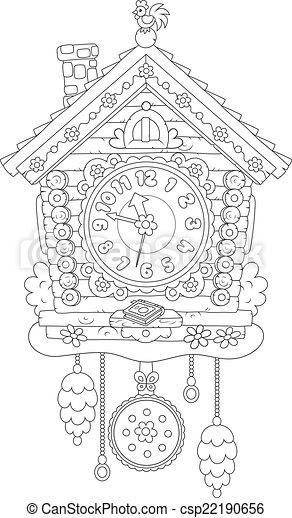 Cucú reloj - csp22190656