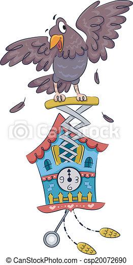 Cucú reloj - csp20072690