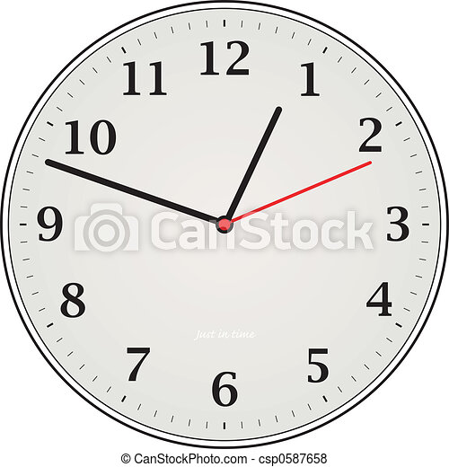 Clock Grey - csp0587658