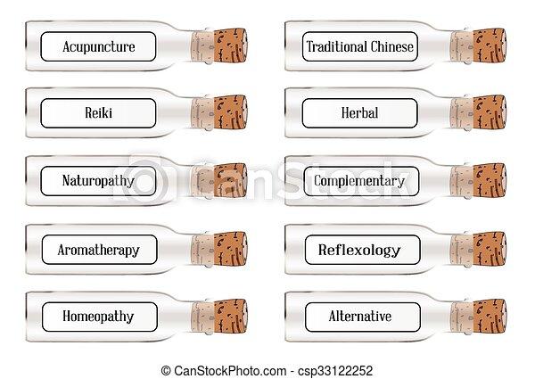remédios, saúde alternativa - csp33122252