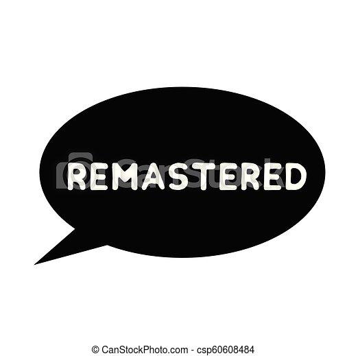 remastered, ゴム製 スタンプ - csp60608484