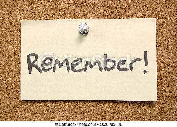 Remember - csp0003536