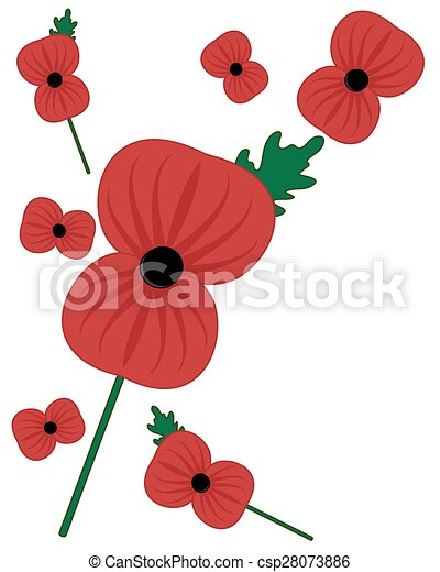 A vector illustration in eps 8 format of the symbolic rememberance rememberance poppy csp28073886 mightylinksfo
