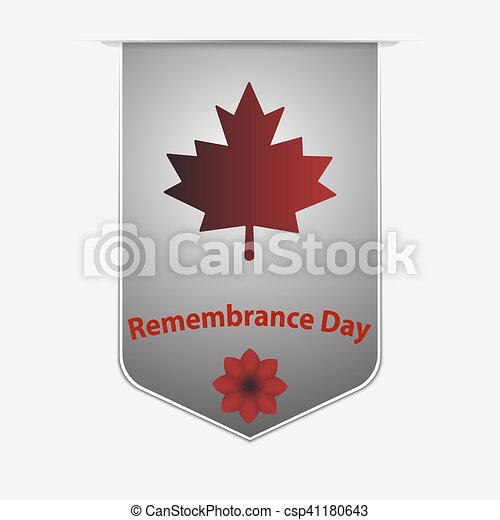 Remembrance Day card - csp41180643