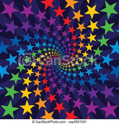 El remolino de la estrella estalla - csp4931541