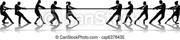 remorqueur, guerre, concurrence, professionnels - csp6378435