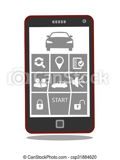Car Starter App >> Remote Car Starter Control System