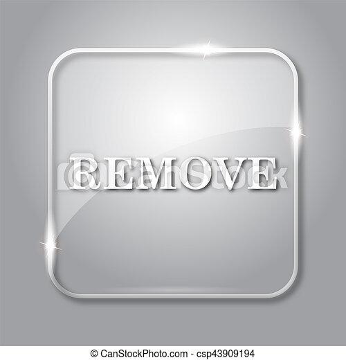 Grey Remove Icon