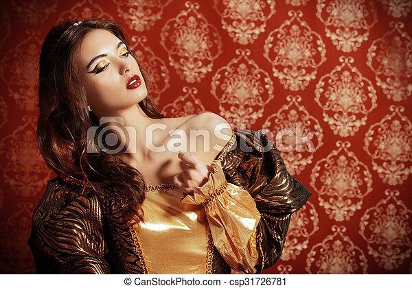 renaissance beauty - csp31726781