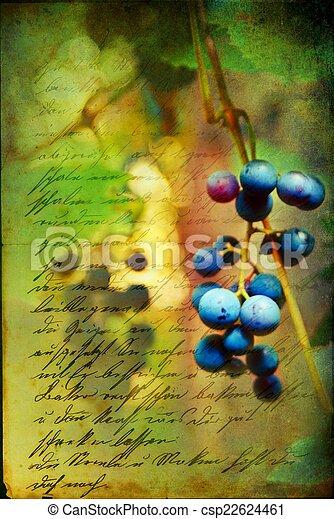 Renaissance Grapes - csp22624461