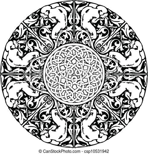 Renaissance seamless pattern - csp10531942