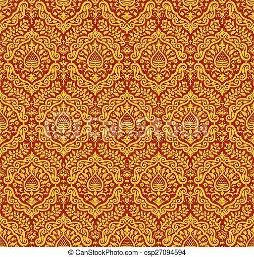 Renaissance style ornament - csp27094594