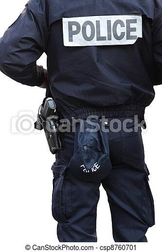 rendőrség tiszt - csp8760701