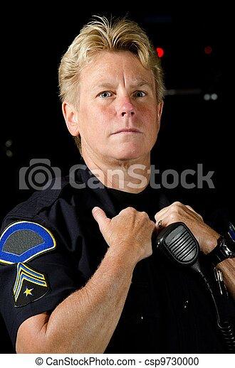 rendőrség tiszt - csp9730000