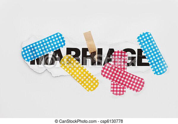 rendbehozás, elvont, házasság - csp6130778