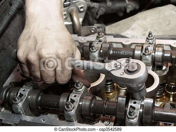 rendbehozás, engine. - csp3542589