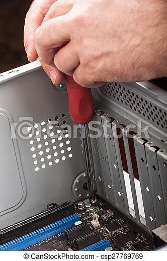 rendbehozás, számítógépek - csp27769769