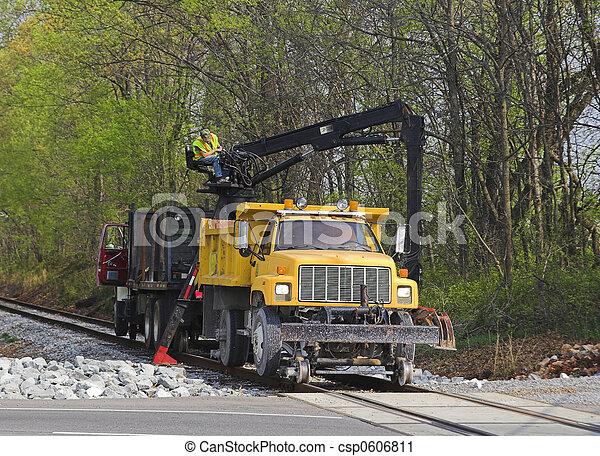 rendbehozás, vasút - csp0606811