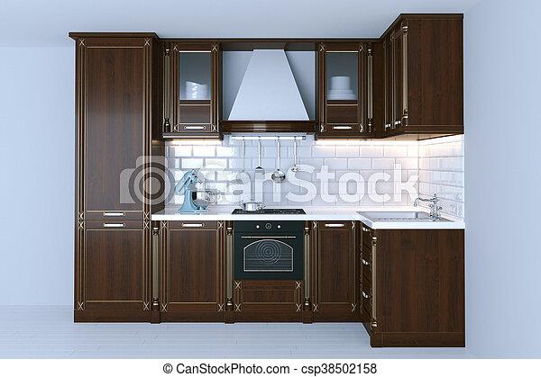 3d Fußboden Küche ~ Render fussboden klassisch hölzern inneneinrichtung weißes