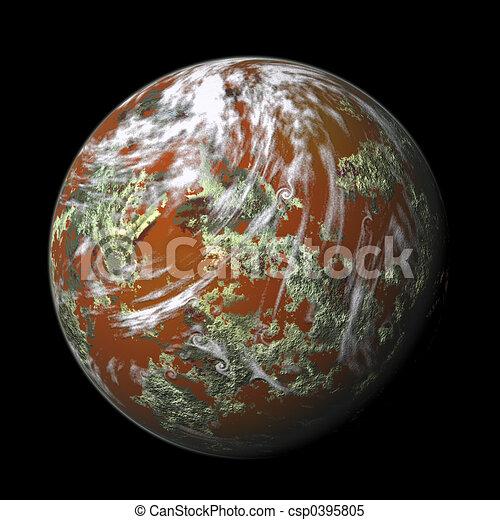 render planet - csp0395805