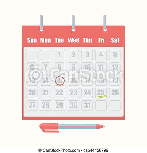 Calendrier Rendez Vous.Rendez Vous Marque Vecteur Date Calendrier Icone