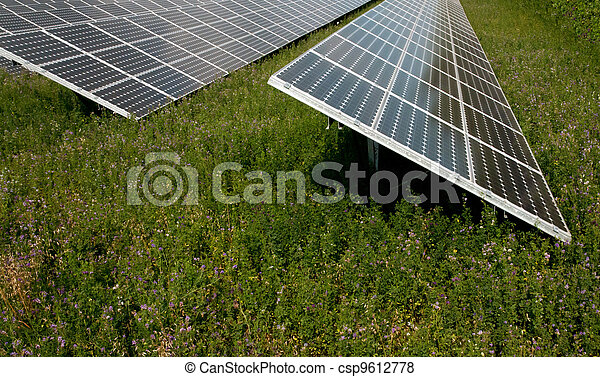 Renewable energy: solar panels - csp9612778