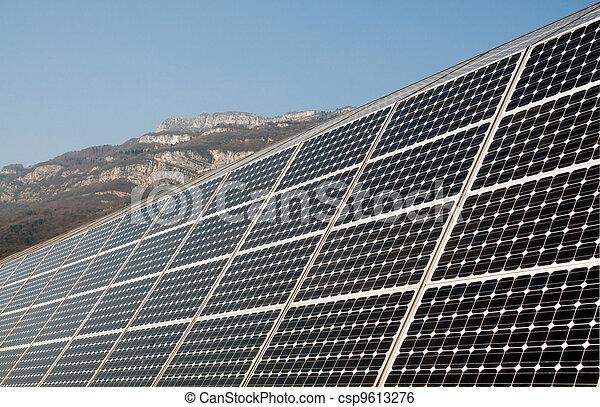 Renewable energy: solar panels - csp9613276