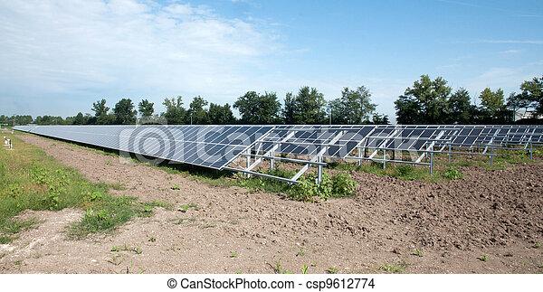 Renewable energy: solar panels - csp9612774