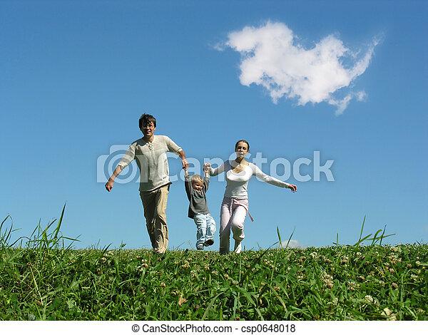 Familie führen - csp0648018