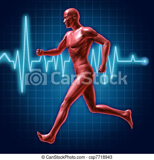 rennender , fitness - csp7718943