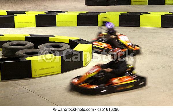 Go-Kart-Rennen - csp1616298